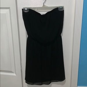 Strapless dress!